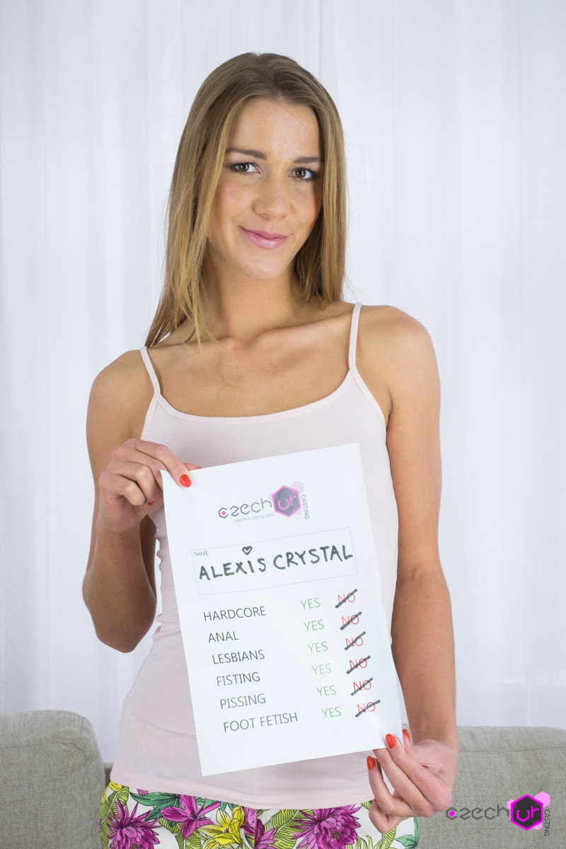 Alexis Crystal Casting VR Porn