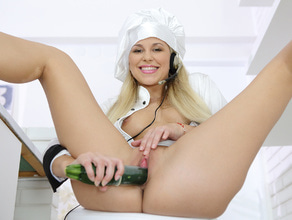 Cooking Veggies With Pussy Juice