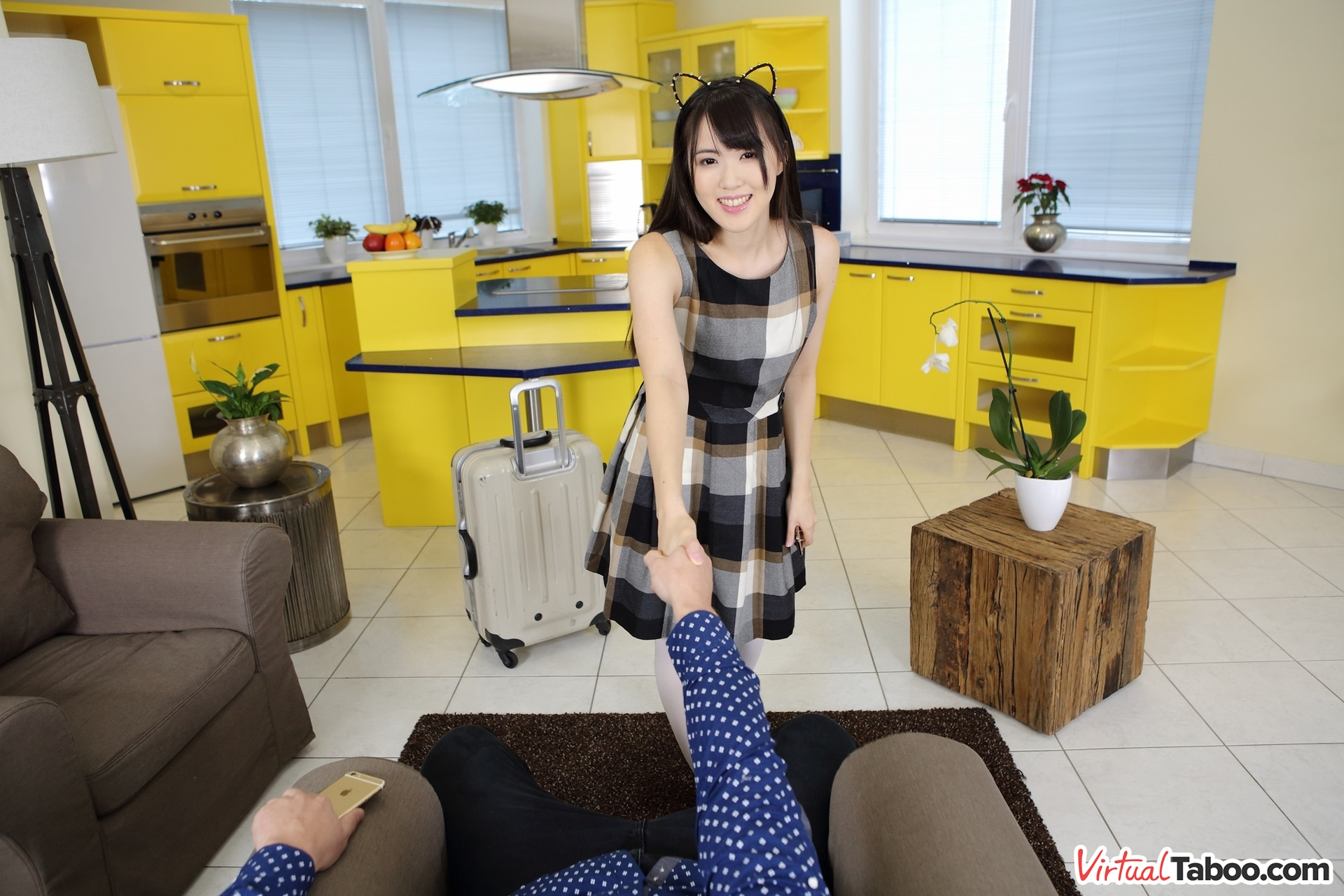 Japanese Daughter Gets Warm Welcome